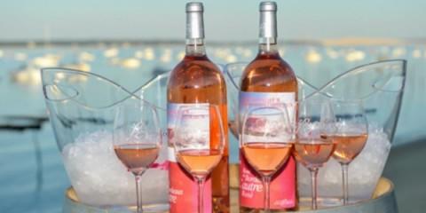 Bouteille vin rosé